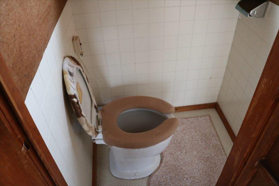 清潔なトイレもあり安心